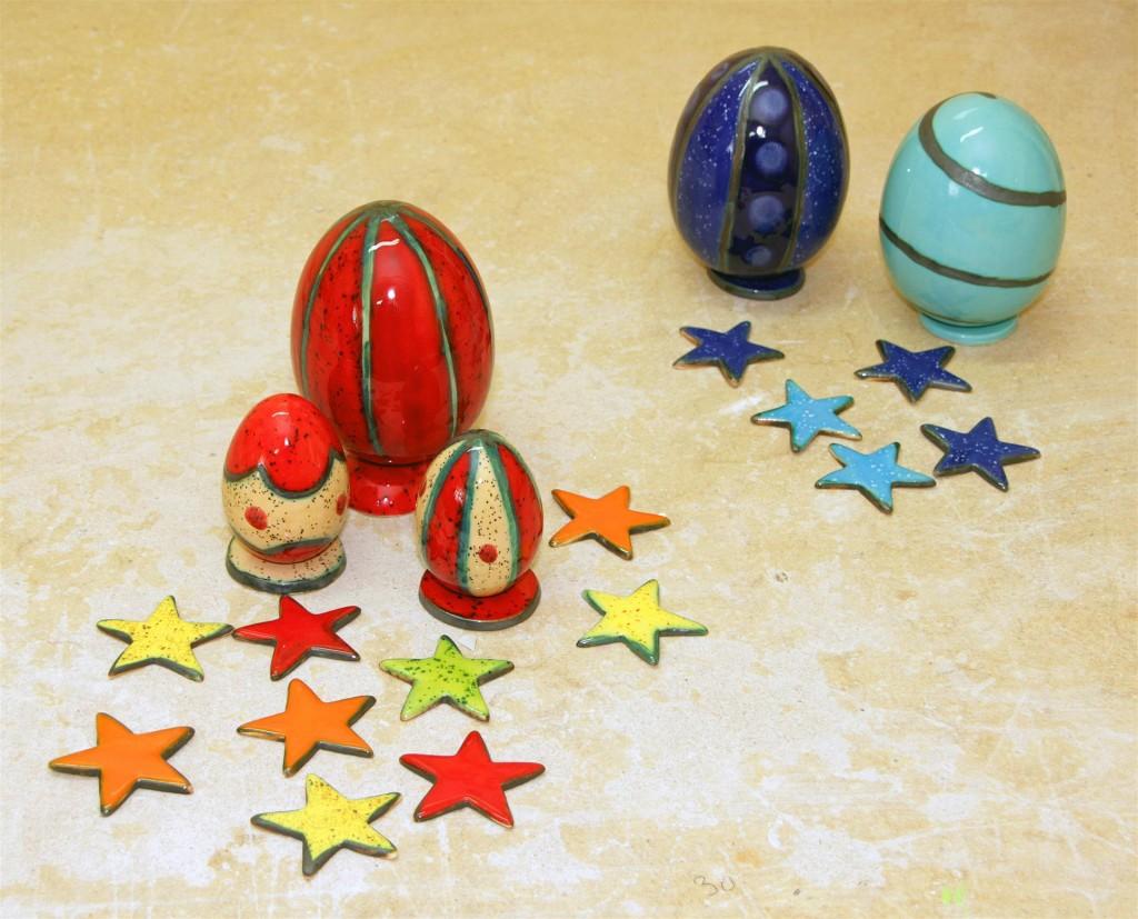pirhi in zvezdice