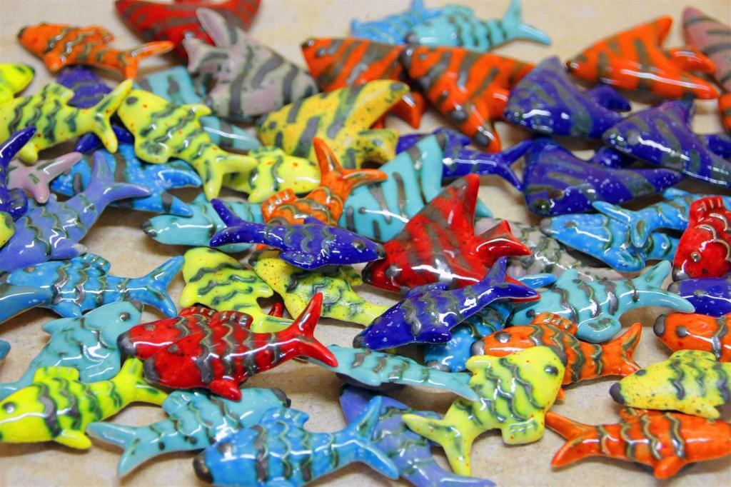 magnetki ribice